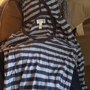 American eagle striped hoodie